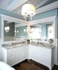 Wash Basin Vanity Unit Vigo Left Hand Corner Combination Unit With Black Basincompact