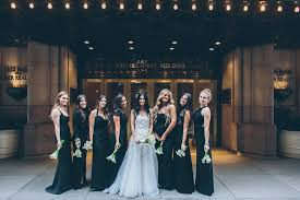 black and white wedding bridesmaid dresses mismatched bridesmaid dresses 10 ways to pull it beautifully