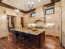 Double Island Kitchen by Kitchen Fantastic Kitchen Design With White Chandelier And Nice