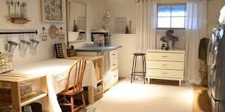 Pictures Of Craft Rooms - remodelaholic basement craft laundry room updates for only 89