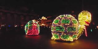 electric light parade disney world out and about main street electrical parade at magic kingdom at