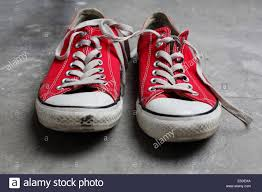 Converse American Flag Shoes Red Converse Stock Photos U0026 Red Converse Stock Images Alamy