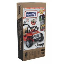 blackout jeep wrangler power wheels jeep wrangler 12 volt battery powered ride on red
