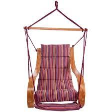 chaise suspendu hamac chaise matelas violet