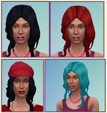 sims 4 maxis match cc hair gina hair at birksches sims blog via sims 4 updates sims 4 maxis