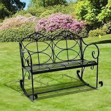 Metal Garden Chair Metal Outdoor Rocking Chairs Inspirations Home U0026 Interior Design