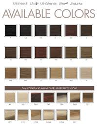 ultratress hair extensions color chart ultratress hair extensions