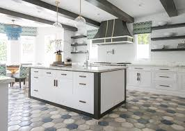 stylish kitchen ideas 12 stylish kitchen ideas with fashionable hexagon tile ourel