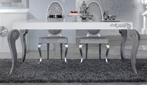 silver dining table brilliant ideas great silver dining table for