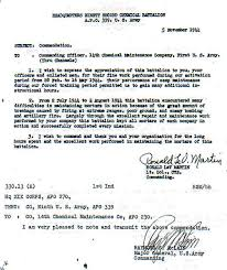14th chemical maintenance company letter of commendation by 92nd cmb