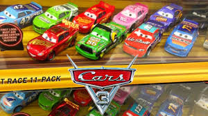 disney pixar cars 3 movie desert race 11 pack leak new diecast