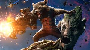 wallpaper galaxy marvel image rocket raccoon and groot in guardians of the galaxy