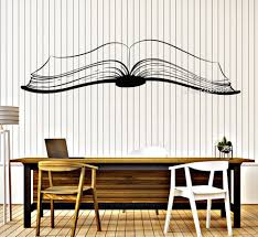 online get cheap open window wall murals aliexpress com alibaba large open book vinyl wall stickers reading stories library home decor wall decal removable waterproof mural