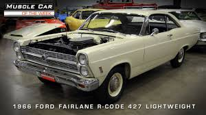 muscle car of the week video 56 1966 ford fairlane 427