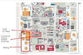 Osu Parking Map Tcu Map Maps Tcu Biology Department Departmentmap Maps