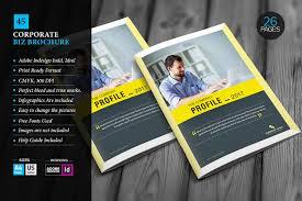 corporate brochure template 45 brochure templates creative market