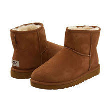 s ugg australia chestnut mini boots ugg australia womens mini boots 5854 chestnut 7 ebay