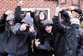 guys rednecks trailer trash black gangs