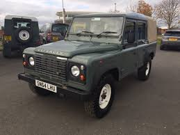 range rover defender pickup 2014 land rover defender 110 2 2 tdci pick up 1 owner full