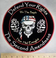 Black American Flag Bandana 5121 Cp Defend Your Rights The Second Amendment We The
