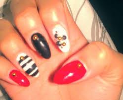 day 180 nautical nail art nails magazine