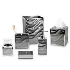 Silver Bathroom Accessories Sets Silver Bathroom Accessory Sets For Less Overstock Com