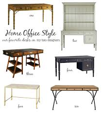 Two Desks In One Office How To Style A Home Office U2013 My Two Designers Blog