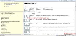 mitsubishi lancer 2011 and lancer sportback 2011 service manual
