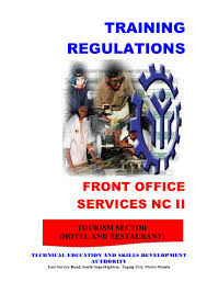 training manual for front desk staff tr front office services nc ii