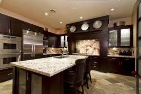 light granite countertops with dark cabinets dark kitchen cabinets with light countertops baytownkitchen com