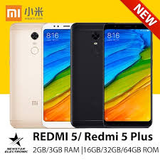 Xiaomi Redmi 5 Plus Qoo10 Buy Xiaomi Redmi 5 5 Plus 12 Mp 2gb 3gb Ram