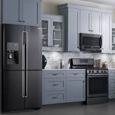 why are black stainless steel appliances so popular