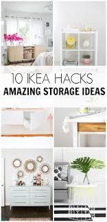 ikea storage hacks 10 ikea hacks amazing storage ideas hawthorne and main