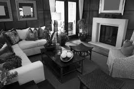 modern living room black white theme decor crave inspirations and