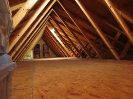 1980s house with tri level partial walls in an attic swansea mb