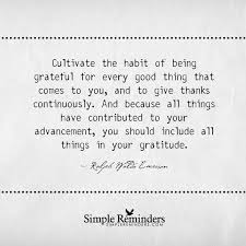 gratitude quotes in hindi cultivate the habit of being grateful by ralph waldo emerson