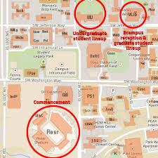 map of oregon state graduation information enrollment services oregon state