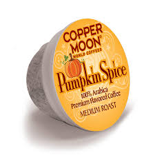 copper moon coffee aromacups k cup pumpkin spice 20ct