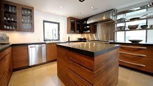 cuisine moderne bois clair armoir en bois moderne
