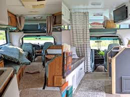 what type of paint to use on rv cabinets a transforms vintage rvs into vacation spots