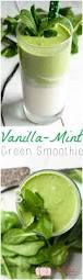 vanilla mint green smoothie 3boysunprocessed