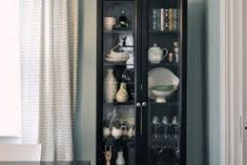 Billy Bookcase With Glass Doors Small Bookcase With Glass Doors Foter