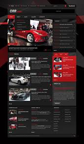 website template 43068 car news magazine custom website template