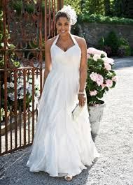 david u0027s bridal galina woman soft chiffon halter gown with ruffled