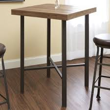 Industrial Bistro Table Pine Pub Tables U0026 Bistro Sets You U0027ll Love Wayfair