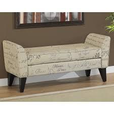 Skyline Furniture Upholstered Storage Bench Living Room Stylish Nailhead Storage Bench West Elm Padded Plan