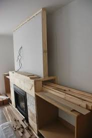 Diy Built In Cabinets by Plans For Building A Book Shelf Around A Fireplace Book Shelves