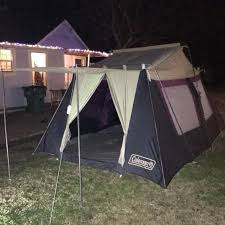 Front Porch Awning Find More Large 10x14 Coleman Tent Spacious 2 Bedroom Front
