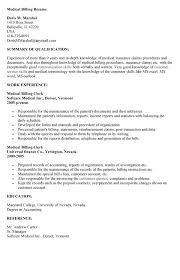 medical billing and coding cover letter example