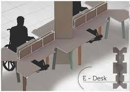 Universal Furniture Desk E Desk Wheelchair Accessible Computer Deskuniversal Design Style
